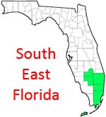 South East Area of Florida